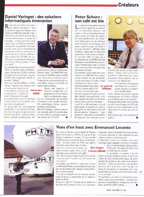 Le magazine Face de la Chambre de Commerce